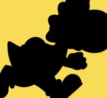 Yoshi Crossing Sticker