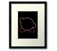 Minimalist Kirby Framed Print