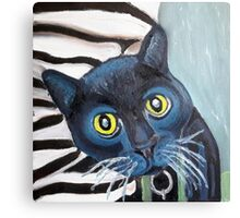 Tux the Shelter Cat Canvas Print