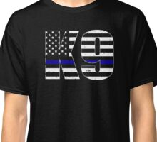 Police K9 Thin Blue Line Classic T-Shirt