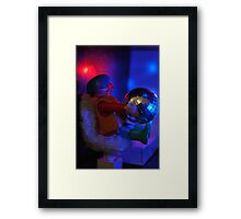 Hommage to Groove Framed Print