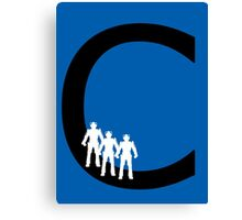 C is for Cybermen Canvas Print