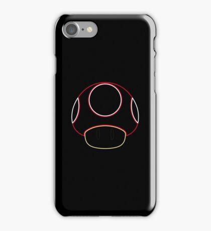 Minimalist Mario Mushroom iPhone Case/Skin