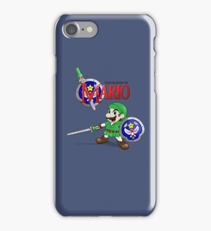 The Legend of Mario iPhone Case/Skin