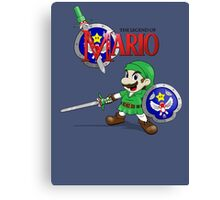 The Legend of Mario Canvas Print