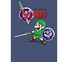 The Legend of Mario Photographic Print