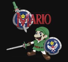 The Legend of Mario Kids Tee