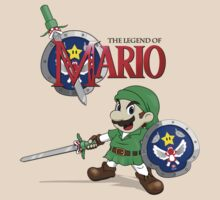The Legend of Mario by worldcollider