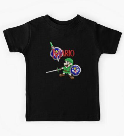 The Legend of Mario Kids Tee