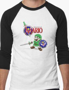 The Legend of Mario Men's Baseball ¾ T-Shirt