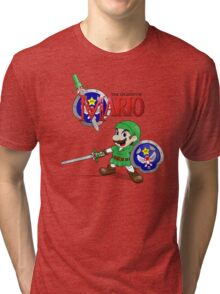 The Legend of Mario Tri-blend T-Shirt