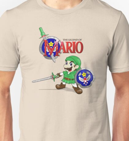 The Legend of Mario Unisex T-Shirt