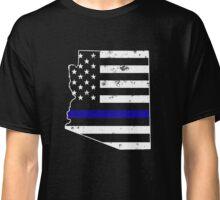 Arizona Thin Blue Line Police Classic T-Shirt
