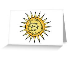 Proverb 31:25 SUN Greeting Card