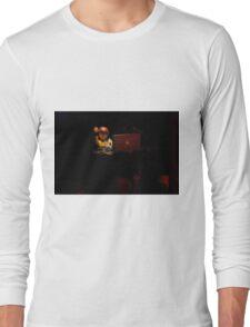DJ spinning Long Sleeve T-Shirt