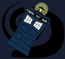 Abstract Tardis 3 by Funky-Designs