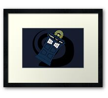 Abstract Tardis 3 Framed Print