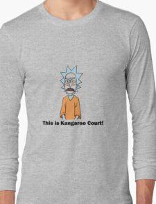 Rick and Morty-- Kangaroo Court Color Long Sleeve T-Shirt