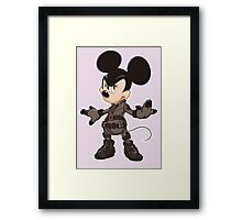 Black Minnie Framed Print