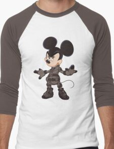 Black Minnie Men's Baseball ¾ T-Shirt