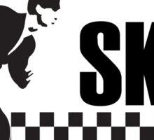 Ska Music Stencil Sticker