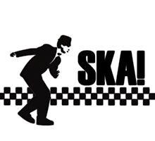 Ska Music Stencil Photographic Print