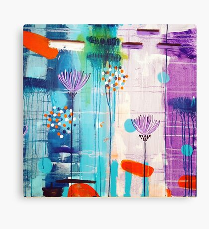 Summer In Bloom Canvas Print