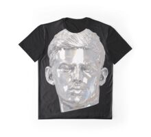 Sebastian (relic) silver on black Graphic T-Shirt