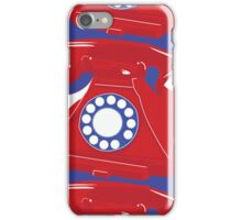 Classic British Telephone iPhone Case/Skin