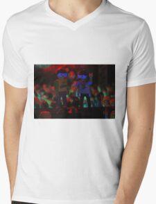 Dancing on speakers Mens V-Neck T-Shirt