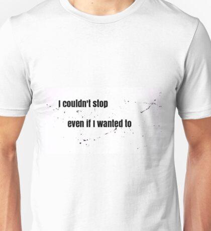 I Couldn't Stop - Good Kid Medicine - Miku Hatsune - Lyrics Unisex T-Shirt