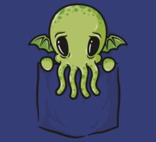 Pocket Cthulhu by mikehandyart