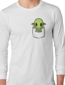 Pocket Cthulhu Long Sleeve T-Shirt