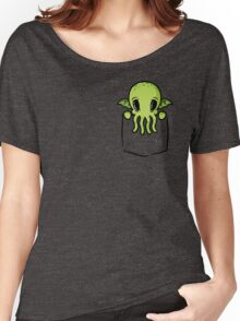 Pocket Cthulhu Women's Relaxed Fit T-Shirt