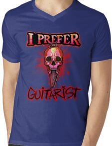 I prefer the guitarist! Mens V-Neck T-Shirt