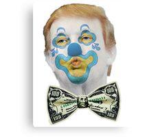 Trump the Clown 2 Canvas Print