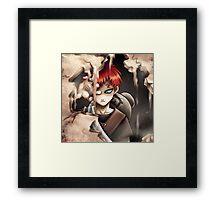 GAARA Framed Print