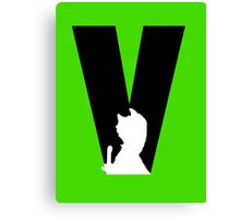 V is for Vastra Canvas Print
