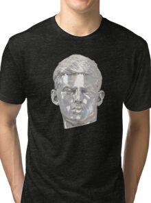 Sebastian (relic) silver on white Tri-blend T-Shirt