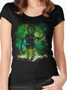 mad robot Women's Fitted Scoop T-Shirt