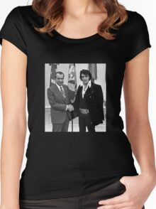 Nixon and Elvis Presley Women's Fitted Scoop T-Shirt