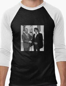 Nixon and Elvis Presley Men's Baseball ¾ T-Shirt