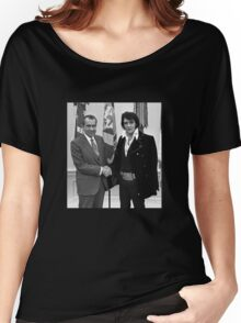 Nixon and Elvis Presley Women's Relaxed Fit T-Shirt
