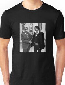 Nixon and Elvis Presley Unisex T-Shirt