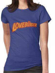 Loveburger  Womens Fitted T-Shirt