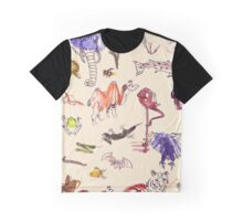Beautiful Creatures of Earth Graphic T-Shirt