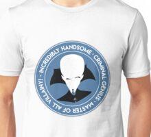 Master of All Villainy Unisex T-Shirt