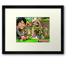 Thank you Miyamoto - Nintendo Framed Print