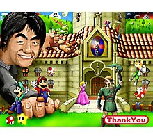 Thank you Miyamoto - Nintendo Photographic Print