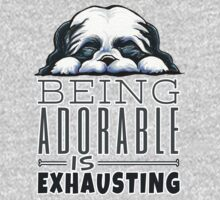 Shih Tzu Being Adorable Kids Clothes